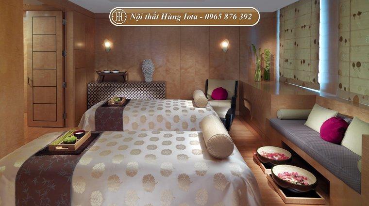 Thiết kế nội thất phòng spa mini đẹp hiện đại