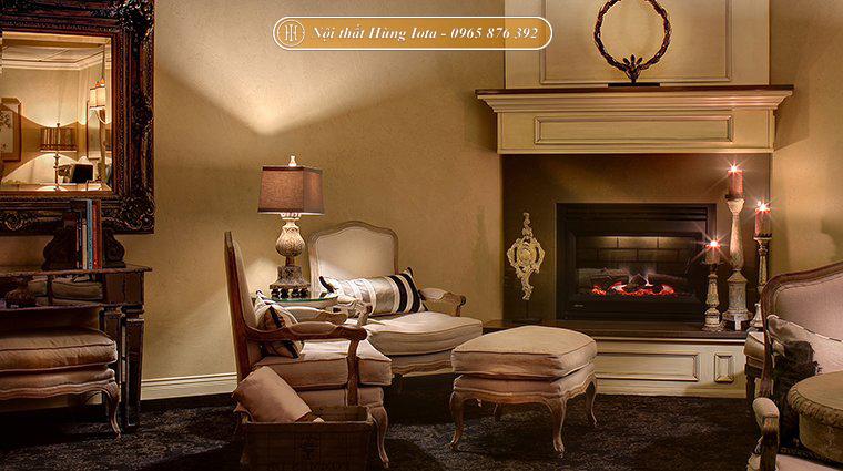 Thiết kế phòng chờ spa theo phong cách vintage