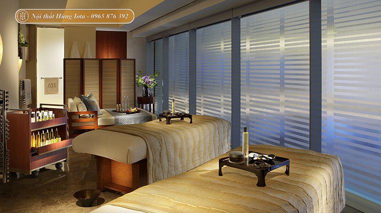 Thiết kế spa đơn giản kiểu Nhật