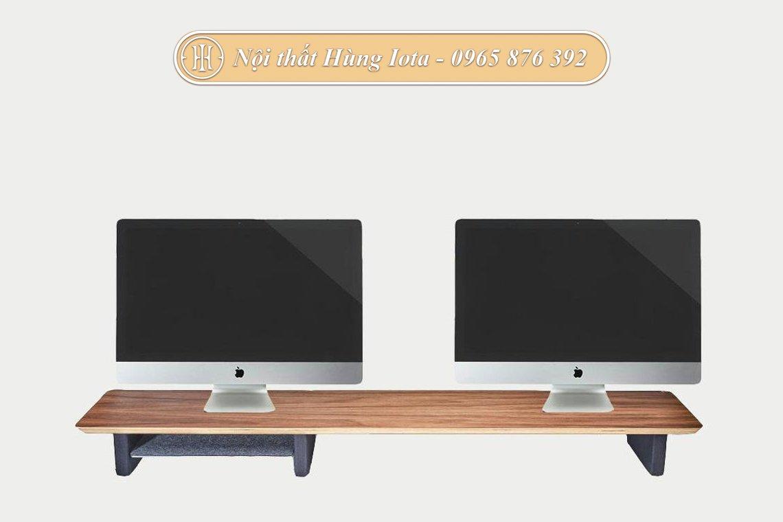 Giá đỡ iMac loại dài có ngăn đựng đồ