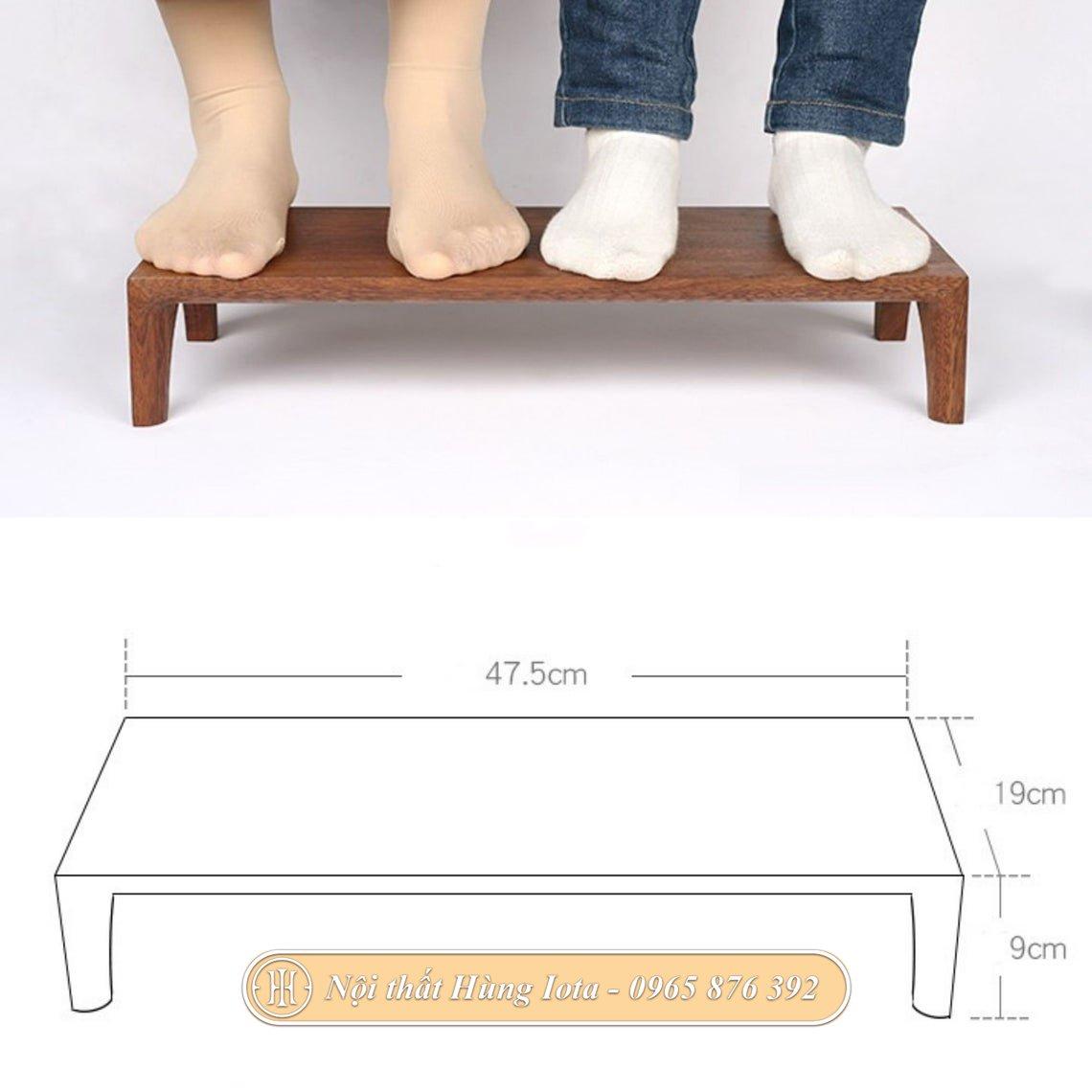 Kích thước kệ gỗ để màn hình máy tính