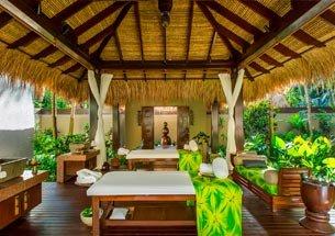 Thumb giường massage chất liệu gỗ sồi