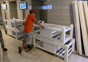 Thumb giường spa màu trắng có tủ ở Vinhomes Skylake