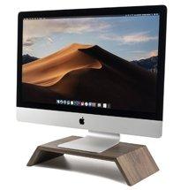 Kệ gỗ để màn hình máy tính cao cấp hình thang đẹp hiện đại KMT01