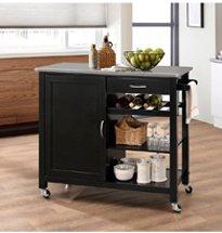 Xe đẩy đa năng bằng gỗ đựng đồ nhà bếp, spa, salon, tiệm nailXDS23