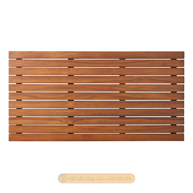 Thảm gỗ lót sàn ban công sân vườn