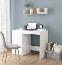 Thumb bàn học màu trắng có tủ đựng đồ đẹp giá rẻ