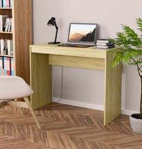 Bàn làm việc màu gỗ nhỏ gọn thiết kế hiện đại, tối giản BGD63