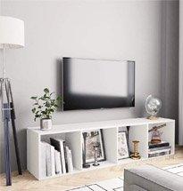 Kệ gỗ 4 ngăn đơn giản decor phòng khách, phòng ngủ gia đình TDD64