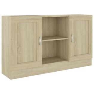 Tủ đựng đồ đa năng màu gỗ mộc mạc chất lượng cao cấp TDD57
