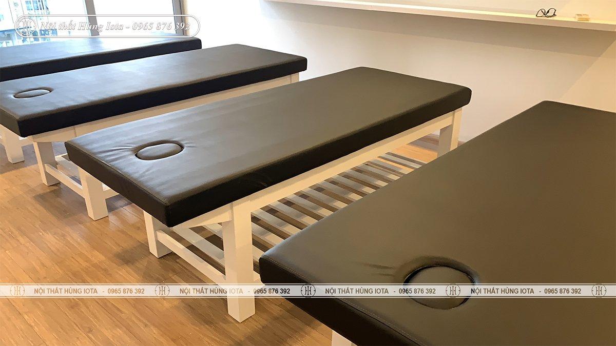 Giường spa gỗ thông cao cấp cho chung cư