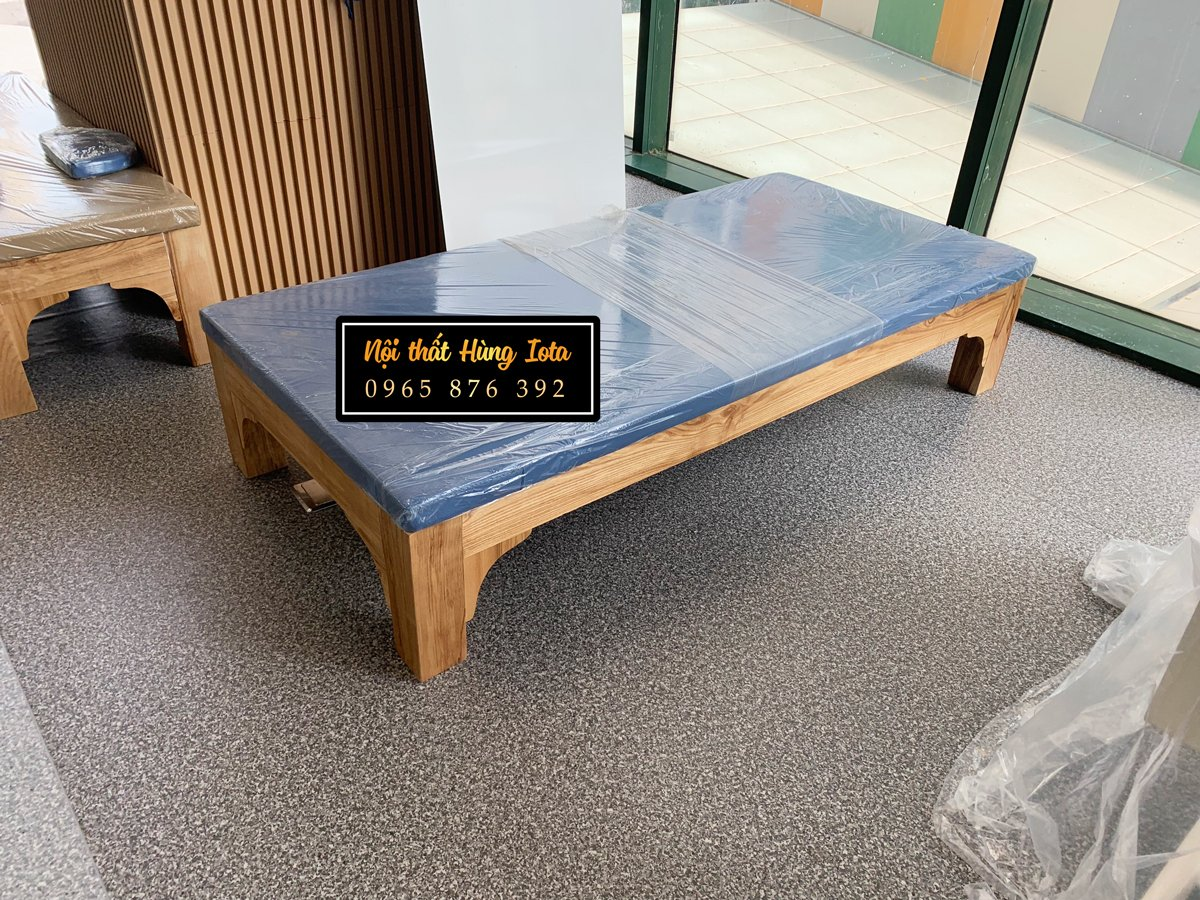 Lắp đặt giường massage người già cho viện dưỡng lão