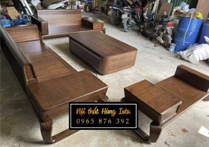Thumb bộ sofa gỗ óc chó đẹp giá rẻ