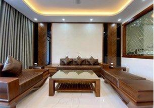 Thumb lắp đặt nội thất giá đình gỗ góc chó tại Hải Phòng