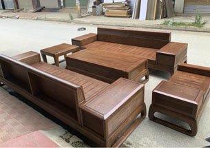 Thumb sofa gỗ óc chó đẹp giá rẻ tại xưởng