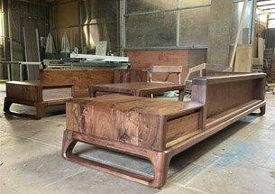 Thumb xưởng sản xuất bàn trà gỗ óc chó giá rẻ
