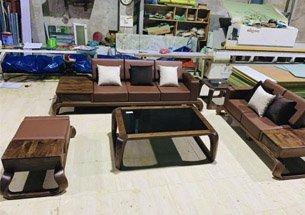 Thumb xưởng sản xuất sofa gỗ óc chó tại Hà Nội